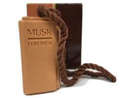 Vintage Avon Musk for Men Soap on A Rope 5 oz 1983 New in Box - $19.63