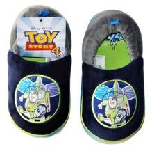 DISNEY TOY STORY 4 BUZZ LIGHTYEAR Boys Plush Slippers Size 7-8 9-10 or 1... - $14.99