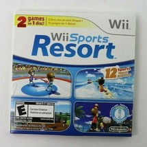 Wii Sports and Wii Sports Resort 2 in 1 Disc + Manual (Nintendo Wii, 200... - $39.95