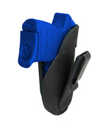 New Barsony Black Leather Tuckable IWB Holster for 380 Ultra Comp 9mm Pi... - $32.99