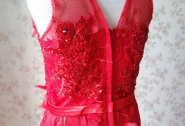 A-Line Princess Floor Length Flower Girl Dress-Tulle Sleeveless Scoop Neck NWT image 2