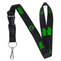 Yoda Jedi Order Lanyard Keychain and ID Holder with Detachable, Breakawa... - $7.99