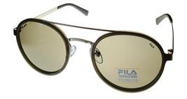 Fila Mens Soft Round Matte Grey Sunglass  ,Polarized Lens SF8494. 581P - $31.49