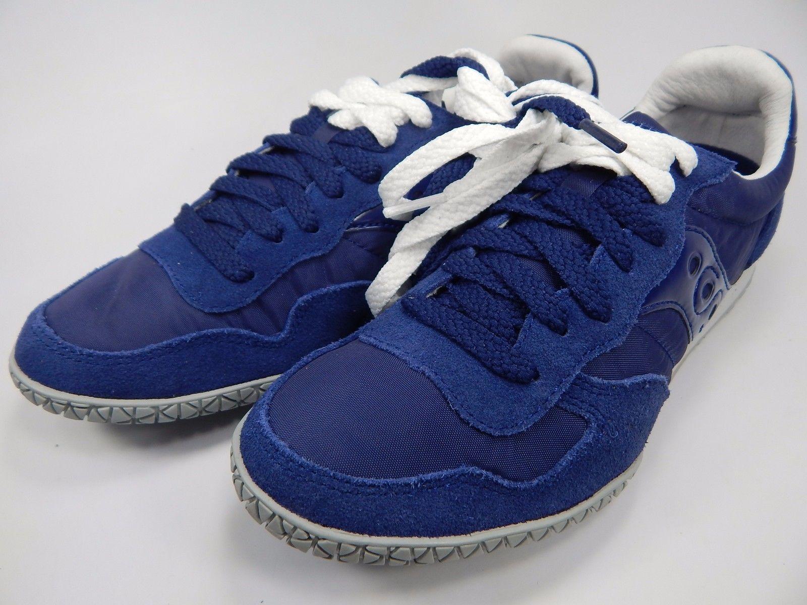 Saucony Original Bullet Women's Running Shoes Size 7 M (B) EU 38 Blue S1943-159