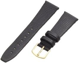 Hadley-Roma Women's LSL706LA 100 Genuine Leather Strap Watchband Bl... SHIPSFREE - $9.86