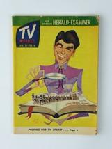 Ronald Reagan Vintage TV Weekly 1965 Los Angeles Herald-Examiner Magazin... - $44.50