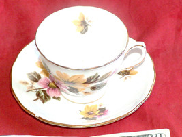 Royal Vale Porcelana H 46i Taza E 56 3 Platillo Ridgway Hecho en England... - $23.50