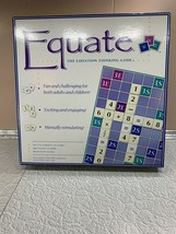EQUATE THE EQUATION THINKING BOARD GAME EDUCATURES & HOME SCHOOLERS, LEA... - $46.71