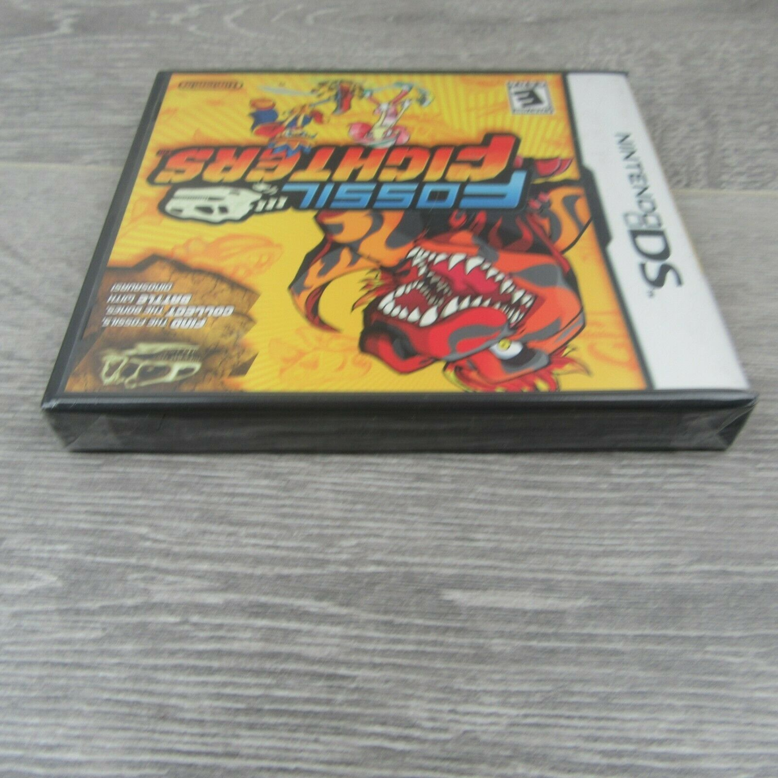 Fossil Fighters Nintendo DS Video Game Brand New & Sealed