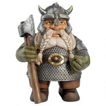 Viking Vicgor Norse Dwarf Gnome Statue - $50.51