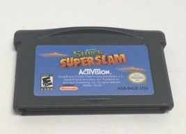 Shrek Super Slam Nintendo Gameboy Advance GBA Game Boy 2005 Activision W... - $9.91