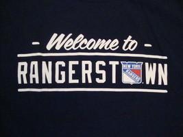NHL New York NY Rangers National Hockey League Fan Blue T Shirt S - $15.10