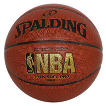 """Spalding NBA Tack Soft Pro Basketball Official Game Ball Size 6 / 28.5"""" ... - $54.99"""