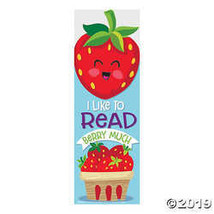 Strawberry-Scented Bookmarks - $7.11
