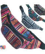 Aztec Fanny Pack Waist Belt Bag Hip Boho Bohemian Pouch Tribal Indian Co... - $9.98