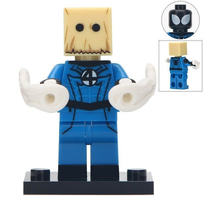Bombastic Bag Man Marvel Comics Lego Minifigures Block Toy Gift for Kids
