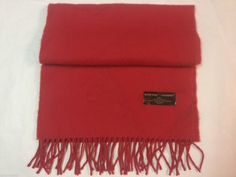 NEW D & Y Warm Winter Red Cashmere Feel Soft Scarf $20 - $10.00