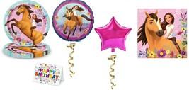 SPIRIT Horse Plates Napkins Party Pack Birthday Balloon Decoration Ride 27PCS - $22.72
