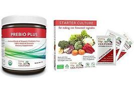 Cutting Edge Cultures Prebio Plus Prebiotic Fiber Powder BEST Custom Blend of Or - $46.55