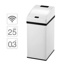 Trash Can Smart Sensor Induction Dustbin Plastic Home Automatic Waste Bi... - $98.99