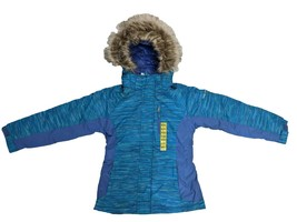 Free Country Girl's Snow Flurry Boarder Jacket Blue Jewel - $36.99