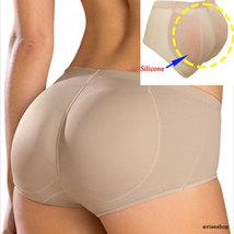 050f1cc26134d Brief Silicone Pads Butt Enhancer Shaper Panties Undies Tummy Control Bu...  -  18.99