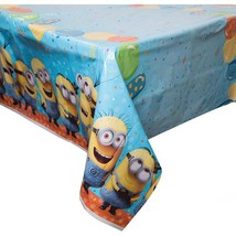 Despicable Me 3 Table Cover 1 Per Package Birthday Party Supplies New - $5.89