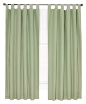 "Ellis Curtain Crosby Thermal Insulated 80"" x84"" Tab Top Foamback Curtain... - $36.62"