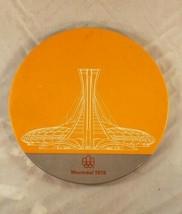 1976 Montreal Canada Olympics Stadium Ornamin Plate  - $8.90