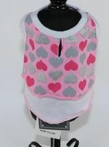 Dog Pet Animal Clothes Pink Shimmery Heart Dress Size XXS XX Small DOGO - $10.58