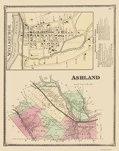 Ashland New York - Beers 1869 - 23.00 x 29.03 - $36.58+