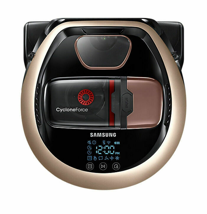 Samsung Powerbot VR20M7070WD Robot Vacuum Cleaner Satin Gold - USA Fedex Free