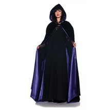 Underwraps 160cm Dlx Velluto e Satin Mantella Viola Costume Halloween Ta... - $27.13