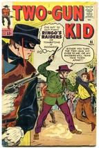 Two-Gun Kid #66 1963- Ringo's Raiders- Dick Ayers Marvel Western FN- - $56.75