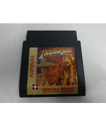 Indiana Jones Temple Of Doom Original Nintendo NES Cart Only Free Ship - $14.84