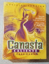 Canasta Caliente Card Game Official Version Hasbro 2001 - New Plastic Sealed NIB - $28.49