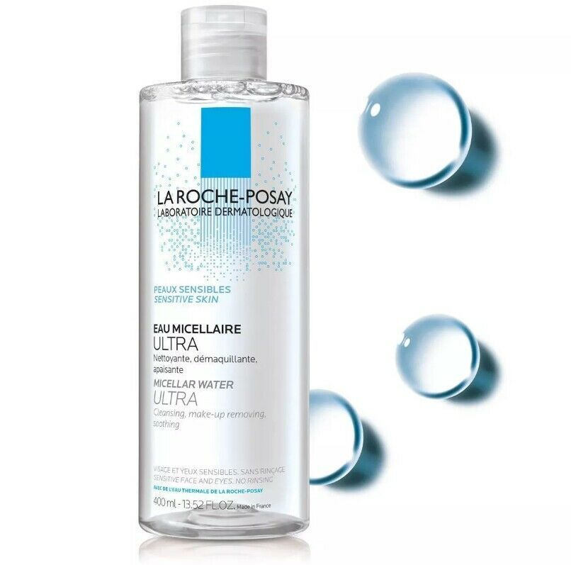 La Roche Posay Ultra Micellar Cleansing Water and Makeup Remover for Sensitive S - $69.00