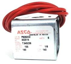 """ASCO P8262C2 SOLENOID COIL MP-C-077 1/8"""" PIPE 6 WATTS 099216-001-D"""