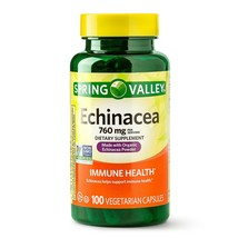 Spring Valley Echinacea Capsules, 760 mg, 100 Count+ - $11.87