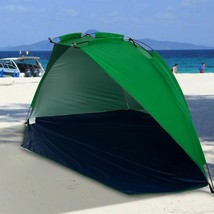Quick Opening Tent Beach Awning Sun Shelter Half-Open Waterproof Tent Sh... - $48.05 CAD