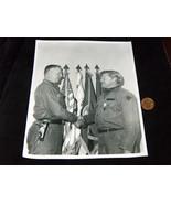 Vtg Militare Maggiore Riceve Congrats da General Nastro & Ciondolo Foto - $12.08
