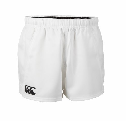 Canterbury Advantage Rugby Shorts, White, Small