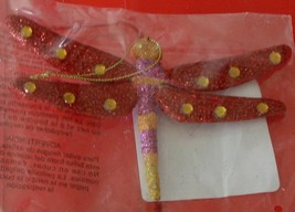 Pretty Summer Splendor Dragonfly Ornament, for Crafts BRAND NEW IN PACKAGE - $3.95