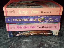 Harlequin Historical Nina Beaumont lot of 4 romance paperbacks - $4.99
