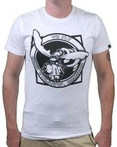 Bench Herren Weiß Schultaschen Wespe We Fly Du Folgen Sie T-Shirt - $14.99