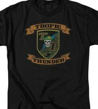 Tropic Thunder t-shirt action comedy war movie 100% cotton graphic tee PAR219 image 3