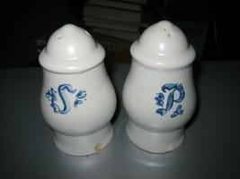 Pfaltzgraff Yorktowne Small Salt and Pepper Shakers - $12.86