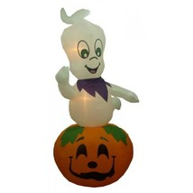 CC Inflatables 9' Air Inflatable Ghost Pumpkin Lighted Halloween Outdoor... - €81,97 EUR