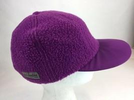 Columbia Fleece Purple USA Baseball Cap Hat S/M - $18.69