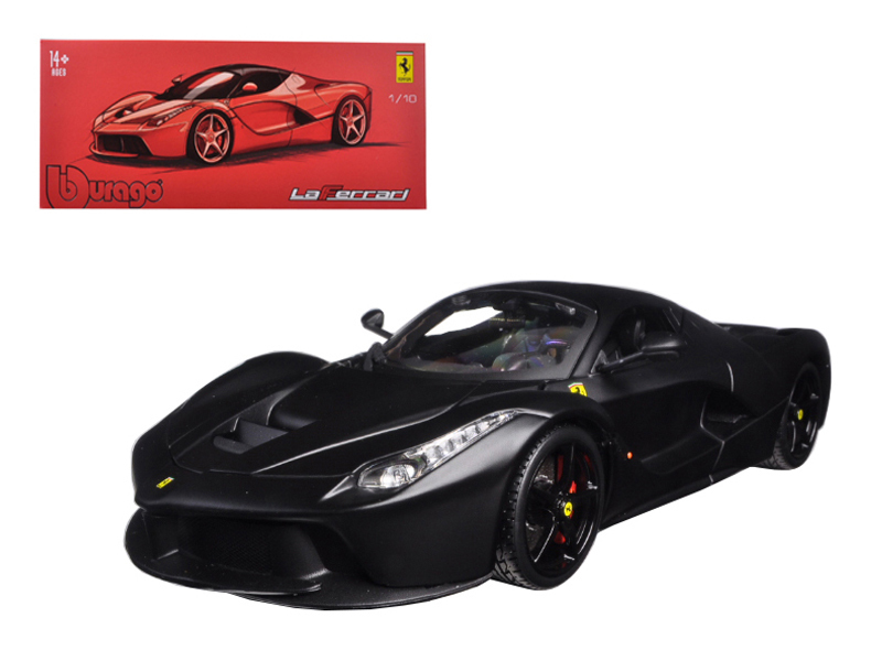 Ferrari LaFerrari F70 Matt Black Signature Series 1/18 Diecast Model Car by Bbur - $90.99